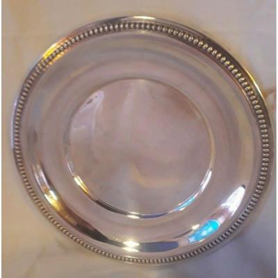 Twentieth Silver Metal Dish