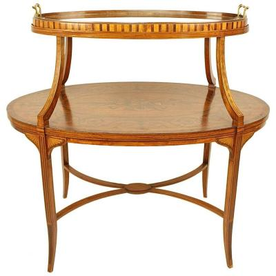 Table étagère, Angleterre/Edwards & Roberts, ca. 1890