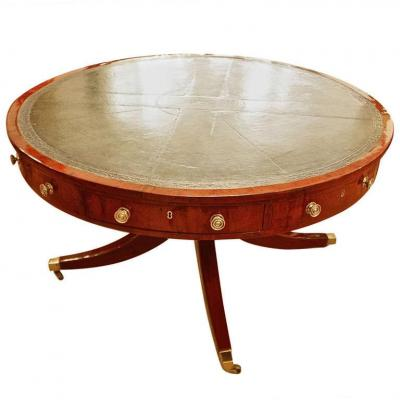 "Grand Table Anglais, Ca. 1820/regency "" Drum Table"""