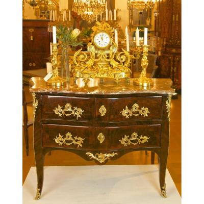 "Commode Sauteuse, Stamped ""coulon"", Louis XV Period"