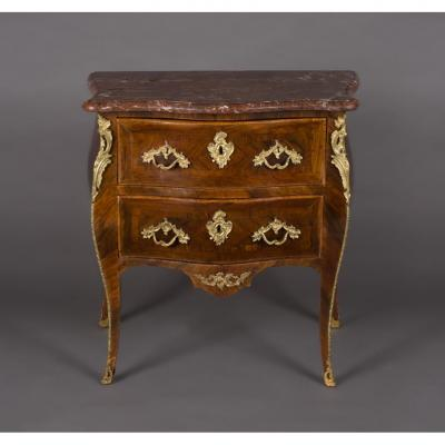 Louis XV Commode Stamped G. Filon, 18th Century