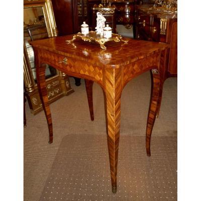 Table De Salon, Louis XV, XVIIIe Siècle, Vers 1775 Estampillée F. Bury