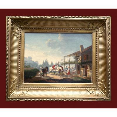 Jacques-françois-joseph Swebach Nommé Swebach-desfontaines Metz 1769 - 1823 Paris l'Arret