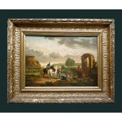 Jacques-françois-joseph Swebach Nommé Swebach-desfontaines Metz 1769 - 1823 Paris
