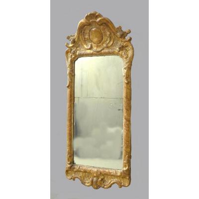 Miroir Louis XV Vers 1760 H. 82 Cm