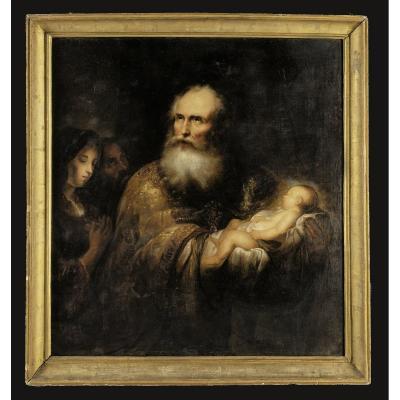 JÜrgen Ovens (* 1623 ; † 1678) Attr. Peintre Du Cercle Rembrandt