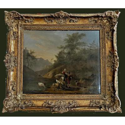 Nicolaes Pietersz. Berchem (* 1er octobre 1620 à Haarlem ; † 18 février 1683 à Amsterdam) signé