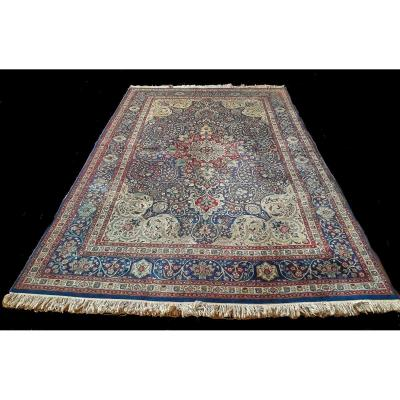 Carpet, Tabriz, Signed, Wool, 60-70 Years, 206x302 Cm