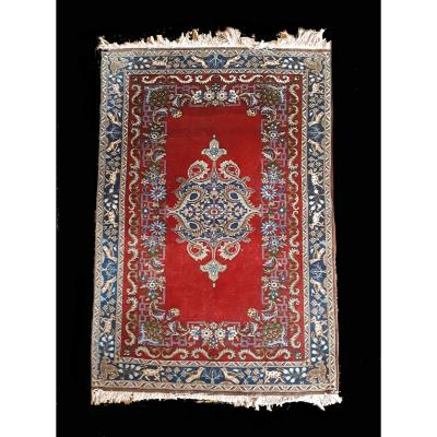 Keschan Rug, 85x119 Cm Wool, 60-70 Years