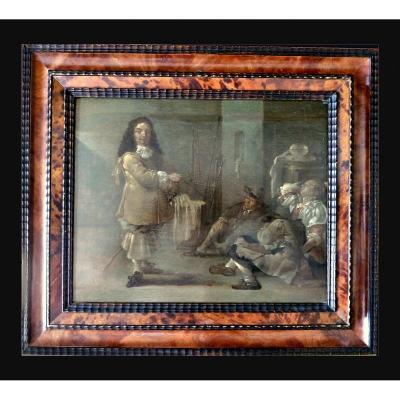 Jacob Duck (vers 1600-1667) Dormir Une Prostituée Dans Un Poste De Garde C. 1660