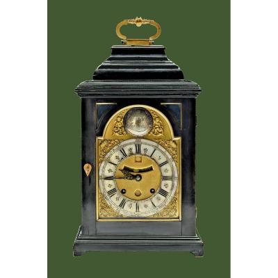 Pendule Bracket Clock Londres Vers 1730 James Markwick Londres  Signé  Markwick Londini  H. 40