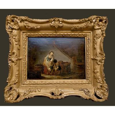 Marie Marc Antoine Bilcoq (paris 1755-1838)     Le Bonheur Familial