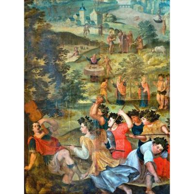 Jacopo Zanguidi Appelé Il Bertoja 1544 - 1574 Attr.   Les Métamorphoses d'Ovide