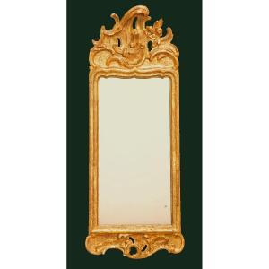 Miroir Louis XV Vers 1750   98x35 Cm