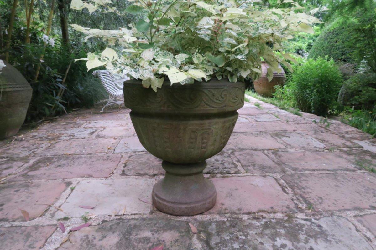 Cast Iron Garden Vase. XVII.