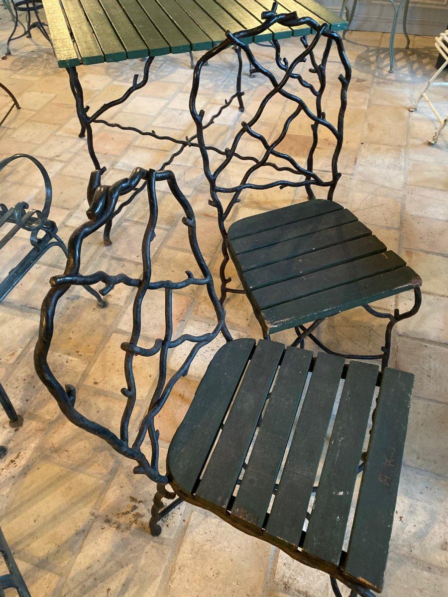 Wrought Iron Garden Furniture By Christian Tortu