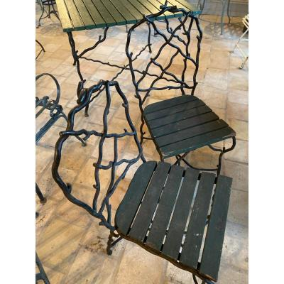 Wrought Iron Garden Furniture By Christian Tortu