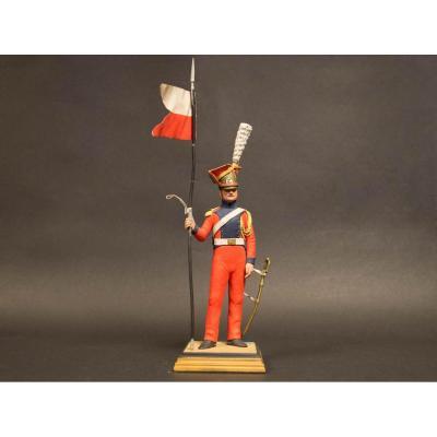 """Soldat G.fouille """"officier Lancier De La Garde""""."""