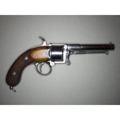 Revolver Devisme Modèle 1858/59 à Percussion Centrale, Six Coups, Calibre 12mm.