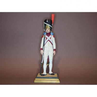 """Private G. Fine Figurine In Lead. """"grenadier Of The 3rd Regiment Of The Imperial Guard""""."""