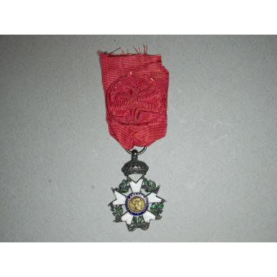 Order Of The Legion Of Honor Instituted In 1802. Knight's Star Of The 1st Empire Of The 2nd