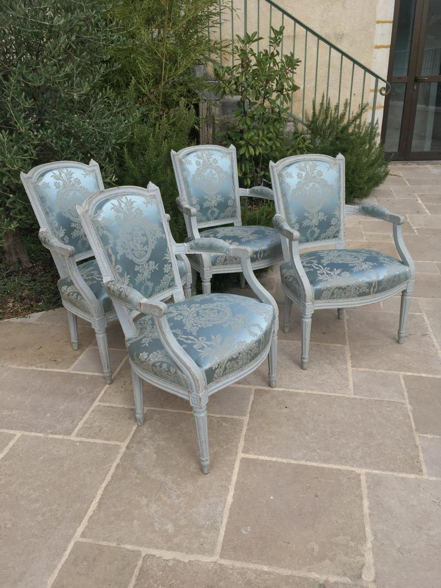 """from Following Four Chairs, Louis XVI Period"""
