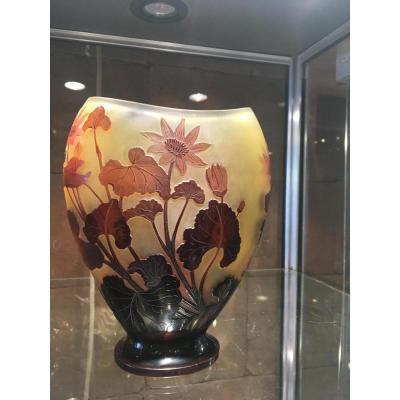 """""""vase De Gallé Oblong ( 1846-1904)"""