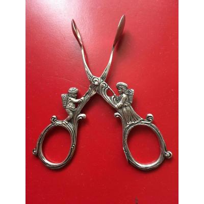 """sugar Tongs In German Sterling Silver"""