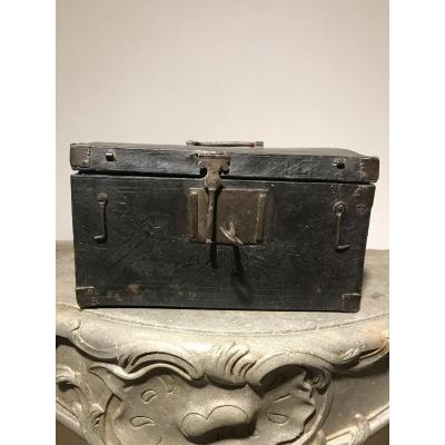 XVII Century Leather Wrapped Box