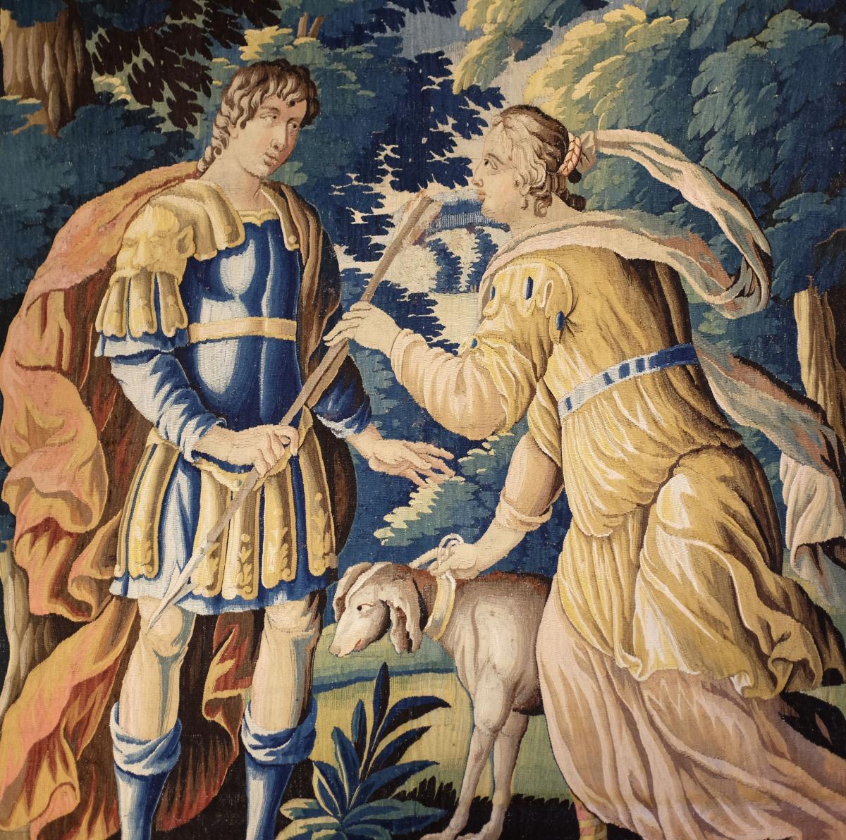 Tapisserie Aubusson Epoque Louis XV