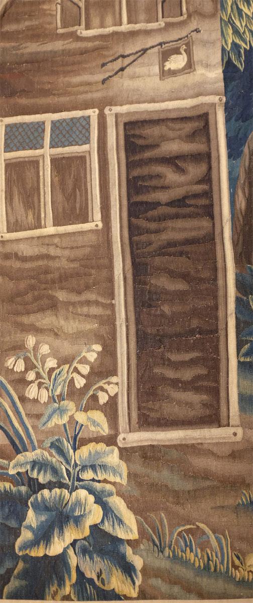 Tapisserie  Flandres XVII d'Aprés Un Carton De Teniers