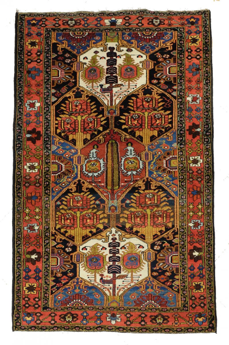Persian Baktiar Rug 1930