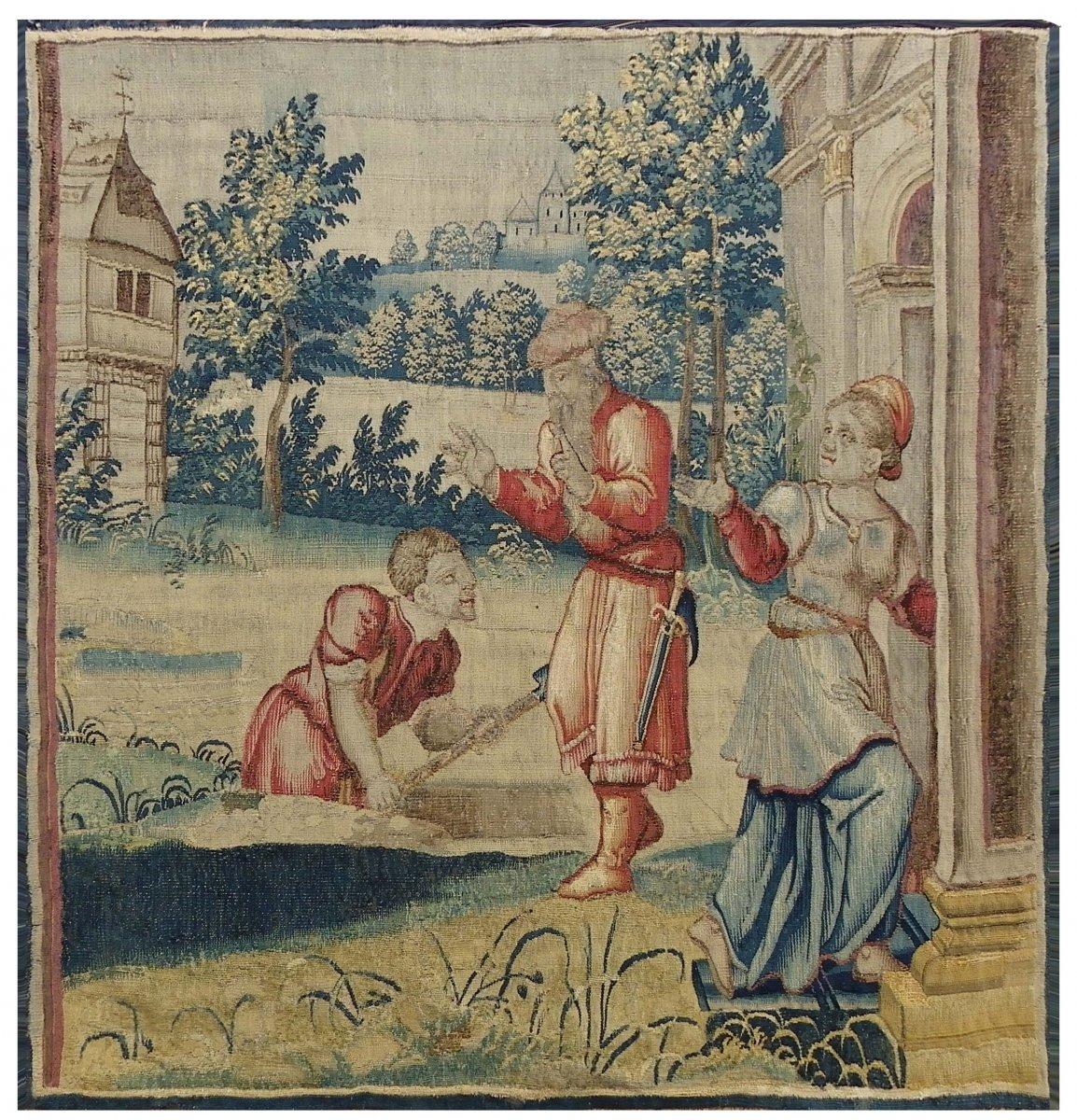 Tapisserie Des Ateliers Flamands Vers 1700