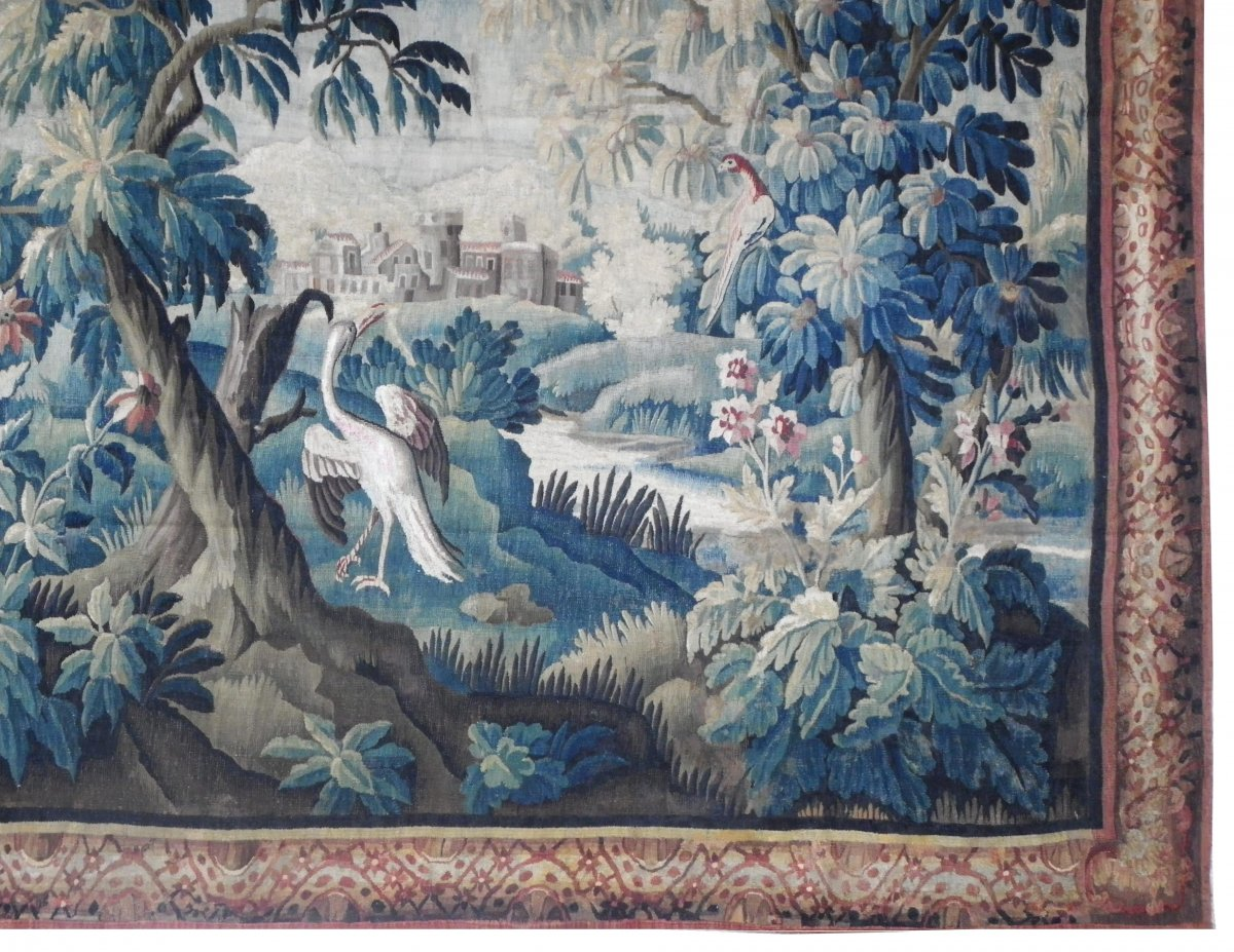 Verdure Tapestry From The Aubusson Manufacture