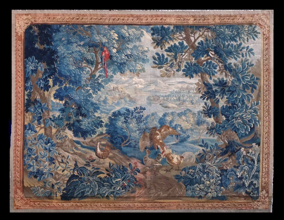 Tapestry Brussels Greenery Early XVIII Century