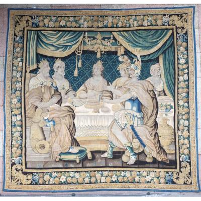 Aubusson Tapestry The Banquet