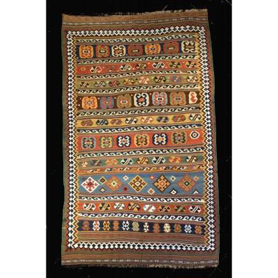 Kilim Qashqai Perse 1880
