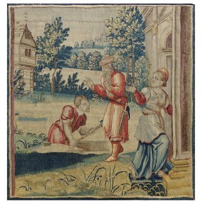 Flemish Workshops Tapestry Circa 1700