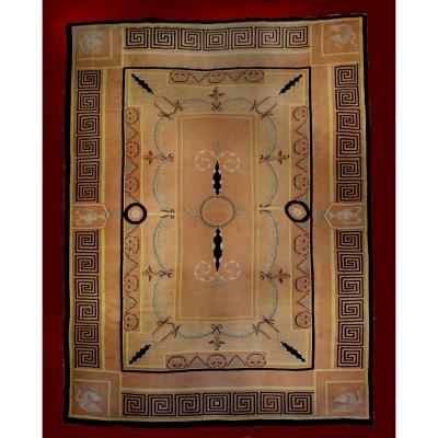 Antic Carpet Savonnerie France Style Empire