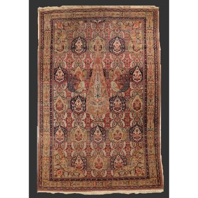 Persian Ferahan Rug Kadjar Period