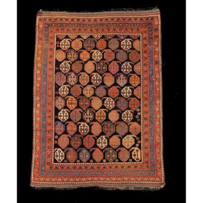 Tapis Afchar Perse Vers 1880