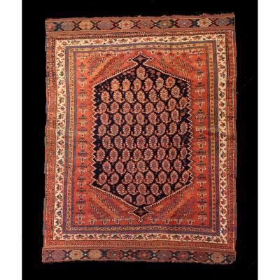 Afchar Persian Carpet Around 1880