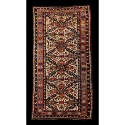 Caucasus Seikour Rug From The XIX Century.