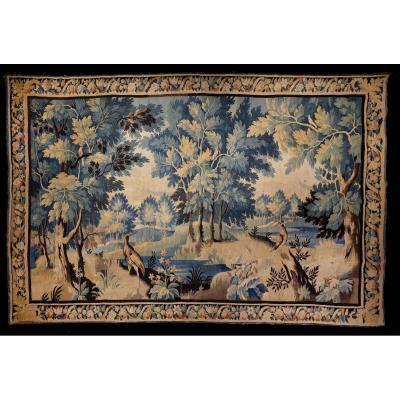 Tapestry Verdure Flanders Louis XV Period