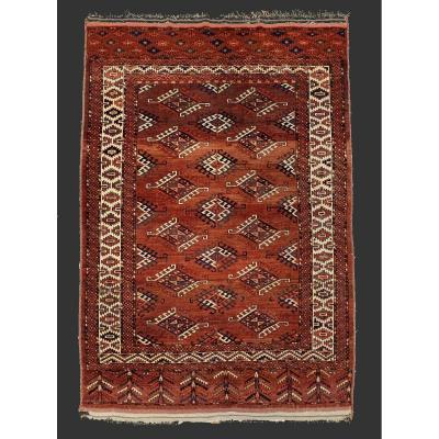 Yamouth Central Asia Rug Circa 1910