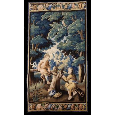Aubusson Tapestry La Balançoire Louis XVI Period