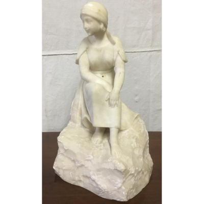 Sculpture En Albatre