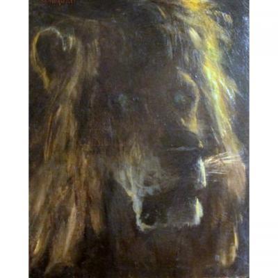 Tête De Lion - Gustav Wertheimer
