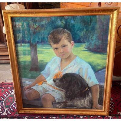 Tableau Pastel Portrait
