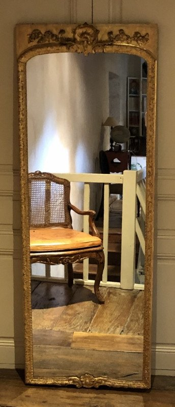 18th Century Regency Style Woodwork Mirror